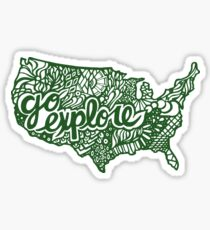 united_states Sticker