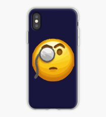 emoji monocle  iPhone Case