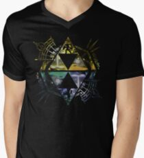 Heroes of Two Worlds Men's V-Neck T-Shirt