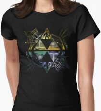 Heroes of Two Worlds Women's Fitted T-Shirt