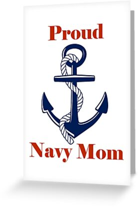 Proud Navy Mom by CajunChic74