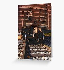 Boxcar Front Greeting Card