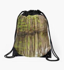 Southern Swamp Drawstring Bag