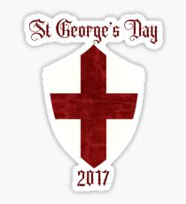 St George-The Dragon Slayer Sticker