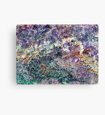 amethyst stone texture Canvas Print