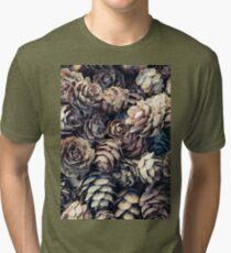 Tiny Pinecones Tri-blend T-Shirt