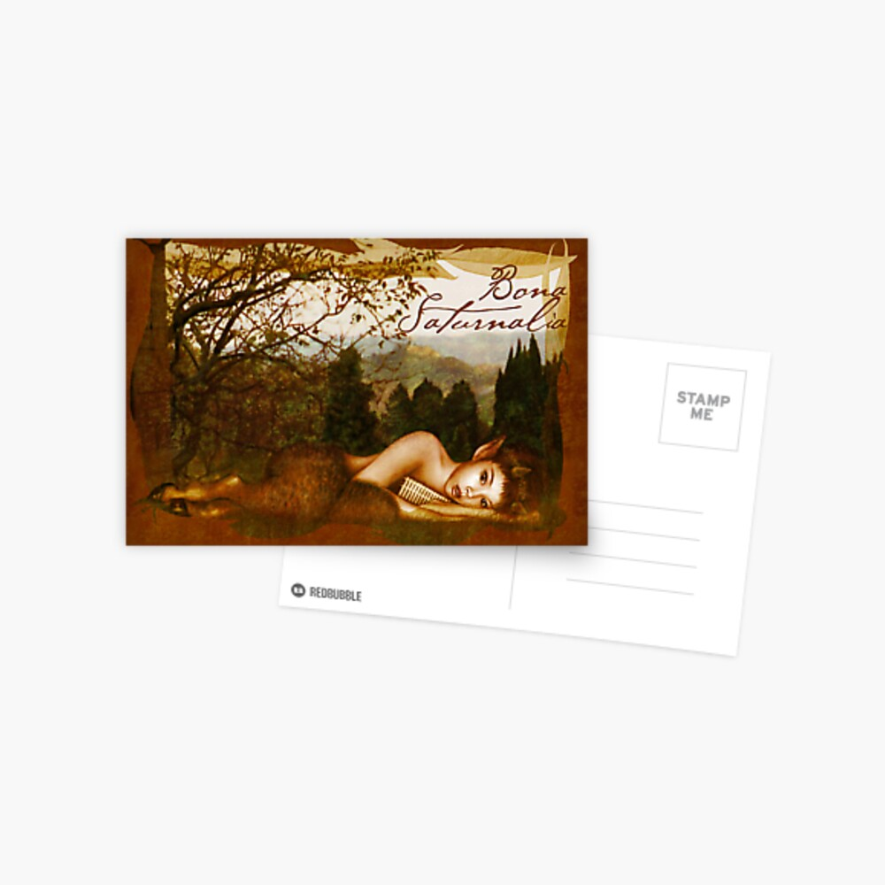 Bona Saturnalia Postcard