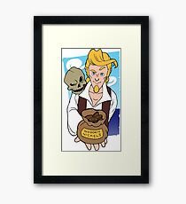 Guybrush and Murray - Monkey Island 3 Framed Print