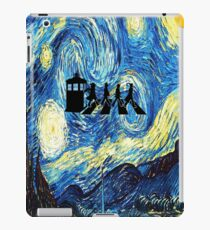 The Doctor Flying With Starry Night iPad Case/Skin