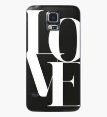 Love 01 Hülle & Klebefolie für Samsung Galaxy