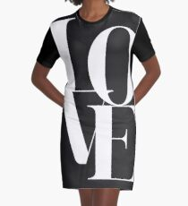 Love 01 T-Shirt Kleid