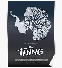 The THING Povie Moster Poster