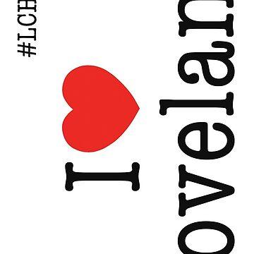 i heart loveland iphone 7 case by haliehovenga