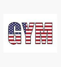 Gym Photographic Print