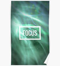 Focus. Poster