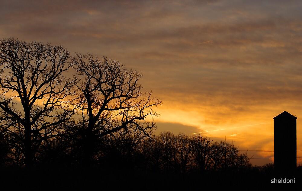 """Country Sunrise"" by sheldoni"
