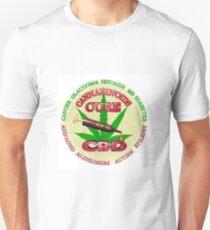 CBD Cannabinoids Cures Illness Unisex T-Shirt