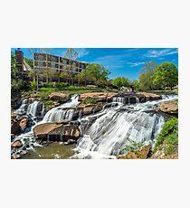 Greenville Falls in South Carolina Photographic Print