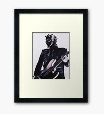 Bass Ghoul Framed Print