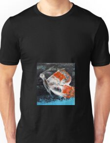 Orange butterfly.Palette knife painting Unisex T-Shirt