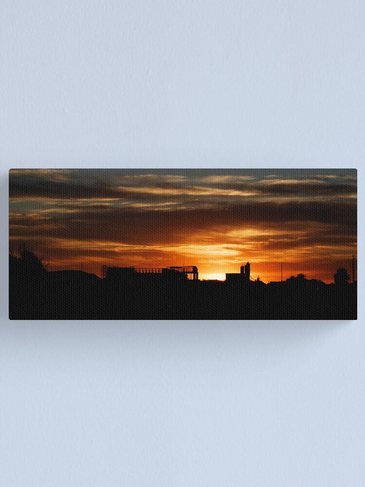 Alternate view of Potatoeland Sunset Canvas Print
