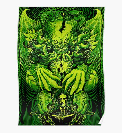 Lovecraft Cthulhu III Poster