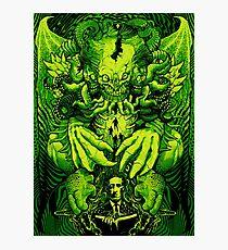 Lovecraft Cthulhu III Photographic Print