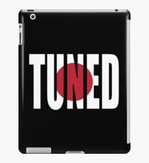 Tuned iPad Case/Skin