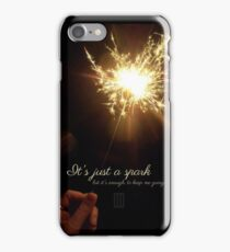 Last Hope - Paramore lyric quote iPhone Case/Skin