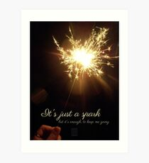 Last Hope - Paramore lyric quote Art Print
