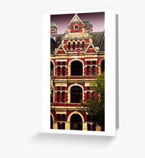 Santa comes to Melbourne! Greeting Card