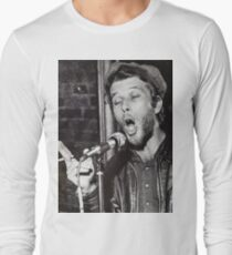 Tom Waits Live performance Long Sleeve T-Shirt