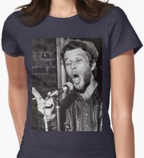Tom Waits Live performance Womens Fitted T-Shirt