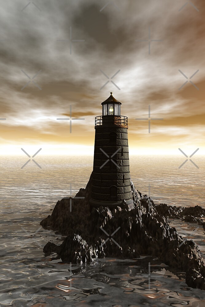 Lighthouse by crystalwizard