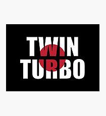 Twin Turbo Photographic Print