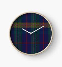 Jenkins of Wales Clan/Family Tartan Clock