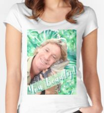 "Steve Irwin ""You Beauty"" Fitted Scoop T-Shirt"
