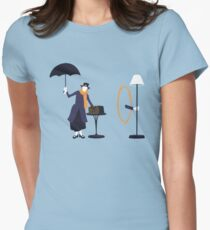 Poppins Portal Women's Fitted T-Shirt