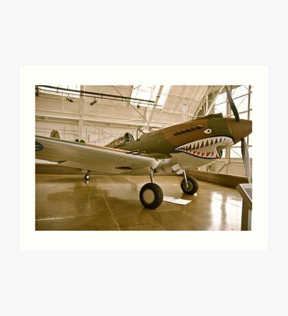 Flying Tiger P40 Art Print