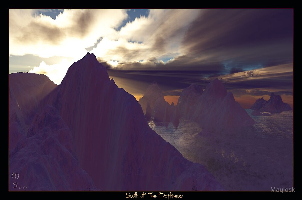 South of the Darkness by Maylock