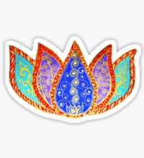 Peaceful Lotus Sticker