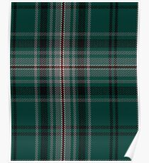 Kelly of Sleat Hunting Clan/Family Tartan  Poster