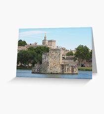 Pont Saint Bénézet in Avignon France Greeting Card
