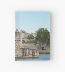 Pont Saint Bénézet in Avignon France Hardcover Journal
