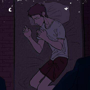Sleeping under the Stars (alternative 1) by skythecoolbean
