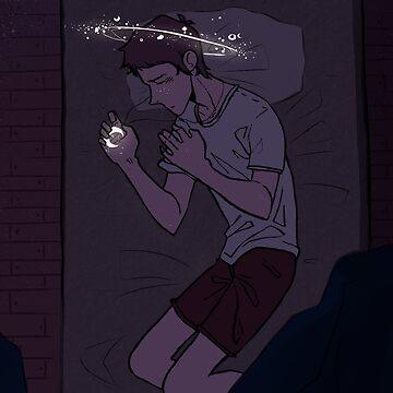 Sleeping under the Stars (alternative 2) by skythecoolbean
