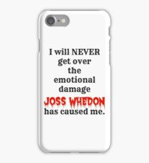 Joss Whedon iPhone Case/Skin