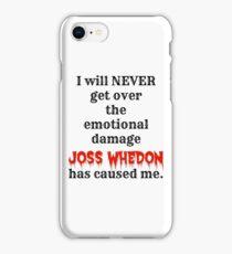 Joss Whedon iPhone Case/Skin