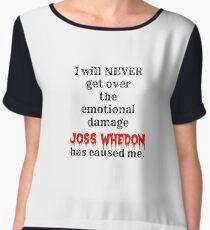 Joss Whedon Chiffon Top
