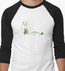 Vegan Crafter ~ Cute Knitting Sheep T-Shirt
